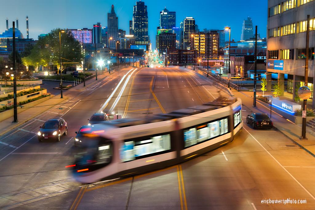 Kansas City Streetcar in Testing