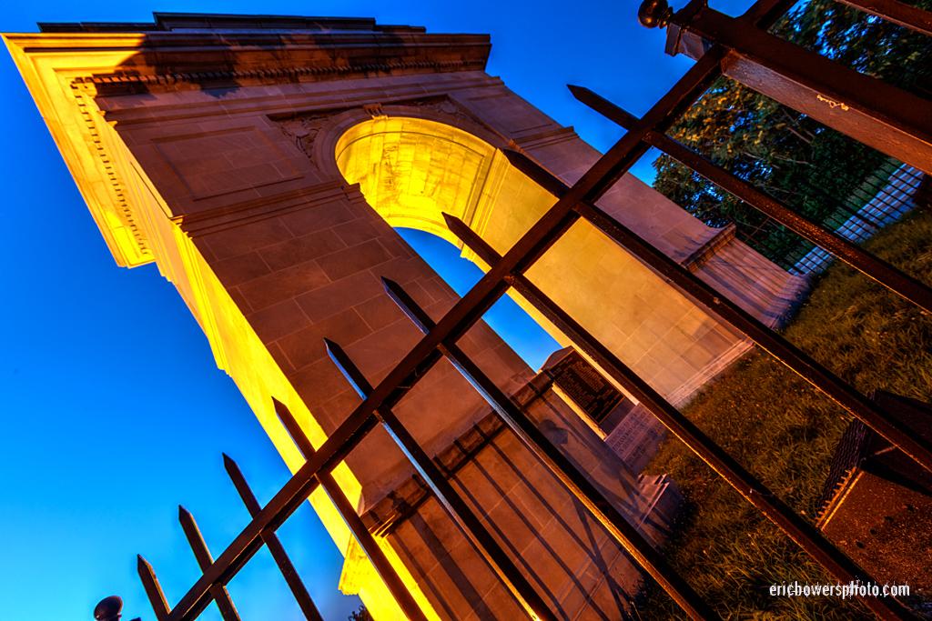 KCK Rosedale Memorial Arch