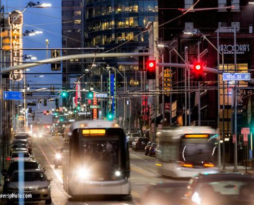 Main Street Downtown Kansas City Streetcar