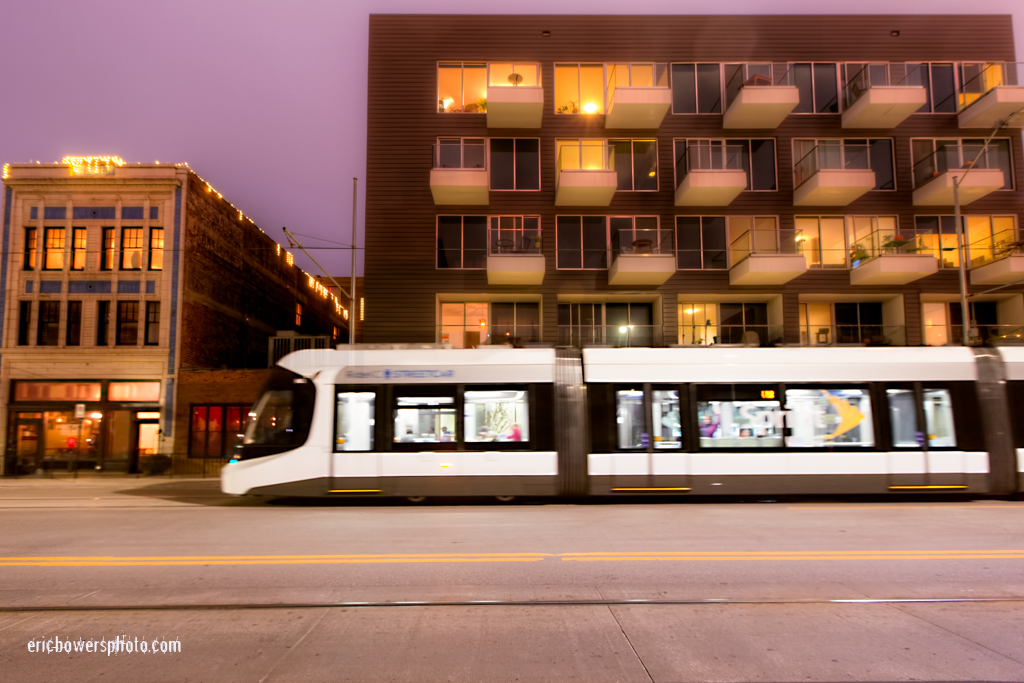 Main Street Downtown Kansas City Streetcar