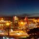 Kansas City Plaza Lights Panorama Photo