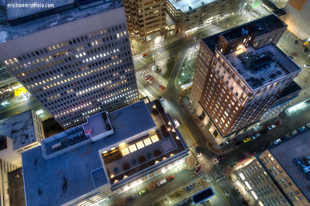 Urban Drone Photos of Kansas City's Downtown Architecture