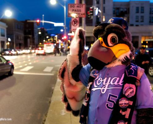 Kansas City Royals Cosplay Street Scene