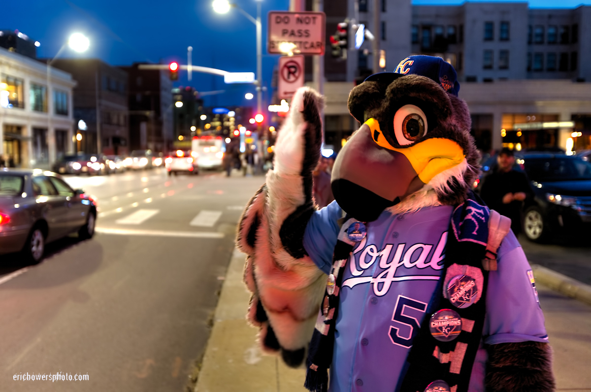 Kansas City Royals Cosplay Street Scene