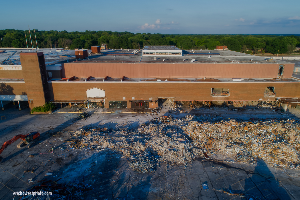 Metcalf South Mall Demolition Progress Photos