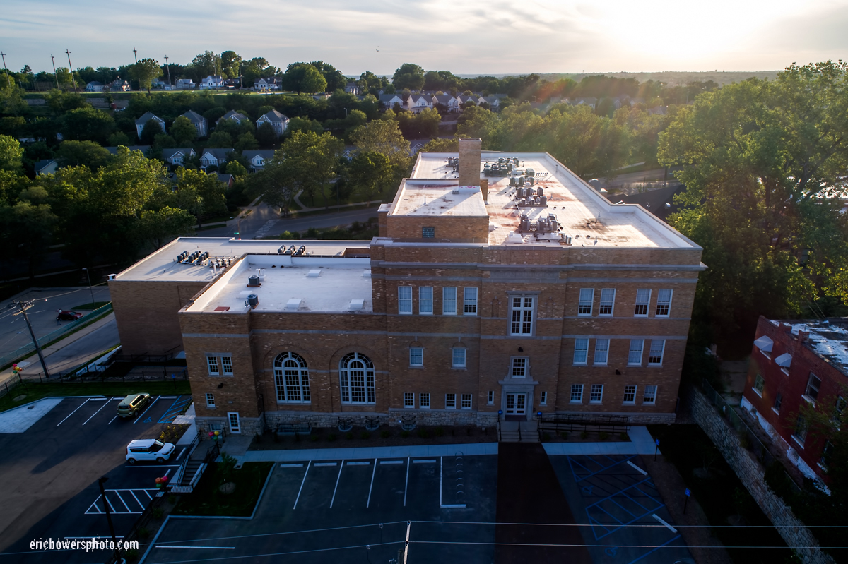 KC Westside Switzer School Renovation Before-and-After