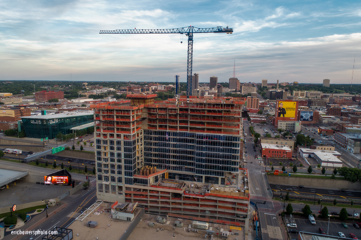 Two Light Tower KC Residential Construction - June 2017 Pt. 1