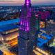 KC Power & Light Building Art Deco with LEDs