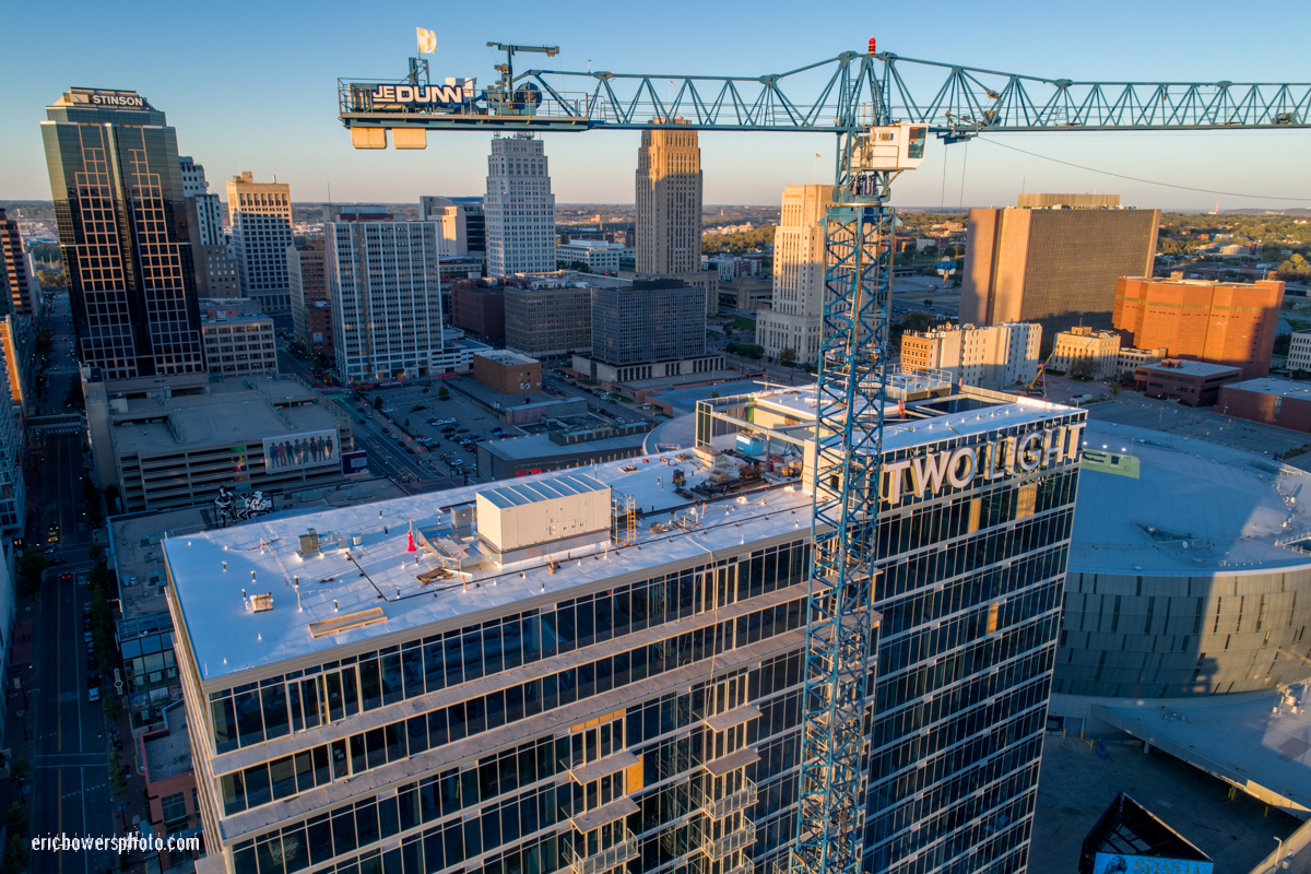 Kansas City Two Light Tower Construction Nearly Complete