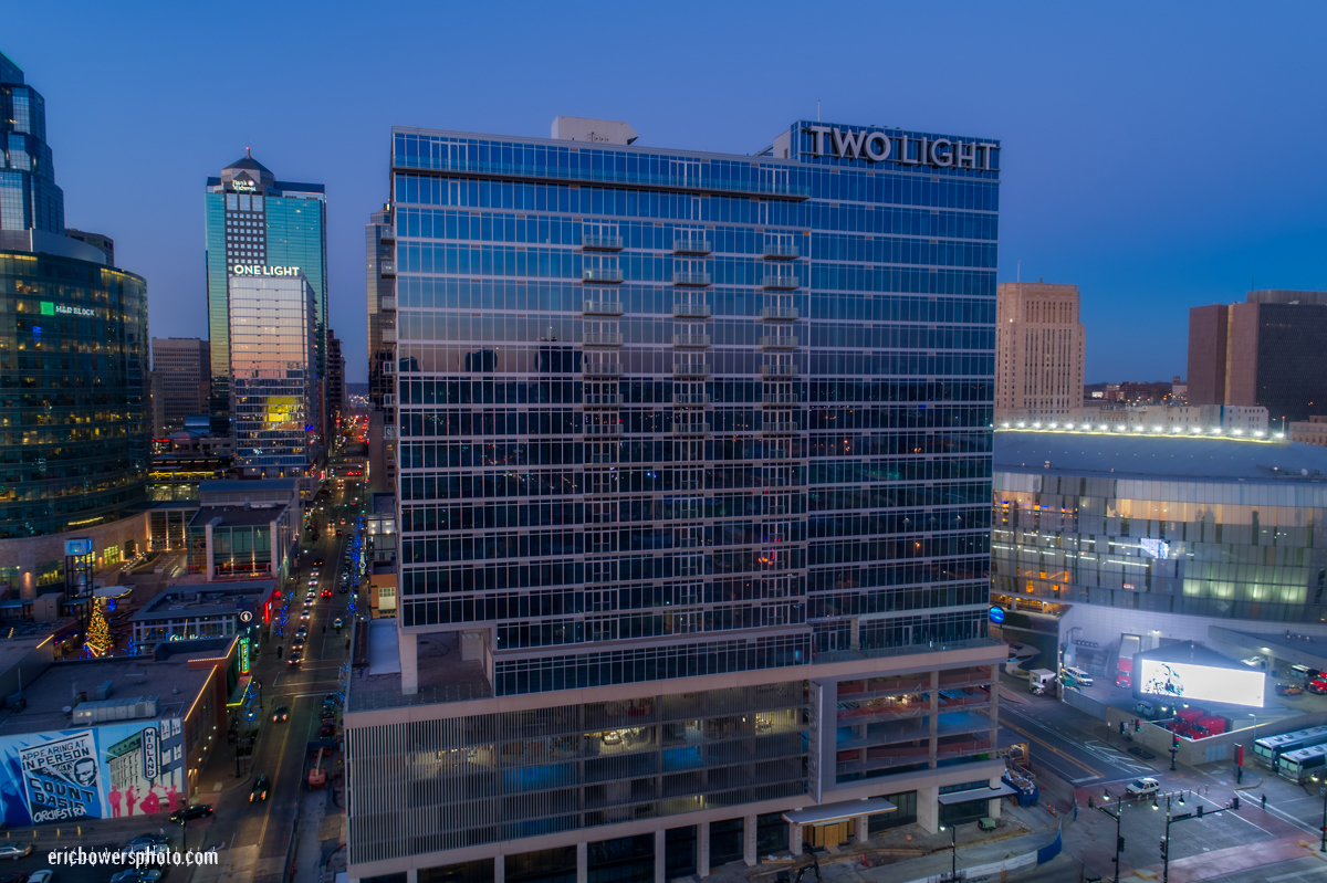 Kansas City Two Light Tower Exterior Completion