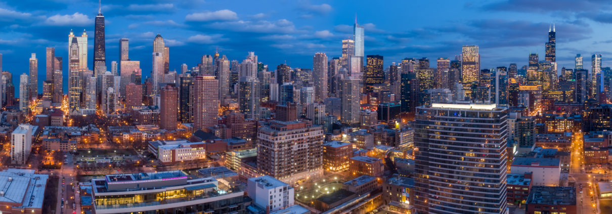 Chicago City Skyline Aerial Photos Pt 5