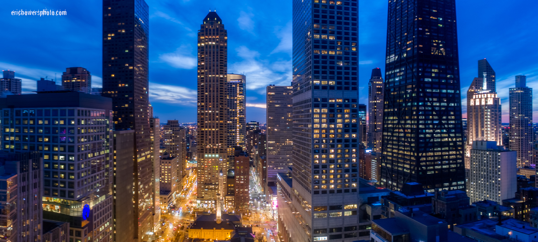 Chicago City Skyline Aerial Photos Pt 6