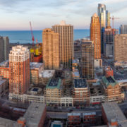 Chicago City Skyline Aerial Photos Pt 9