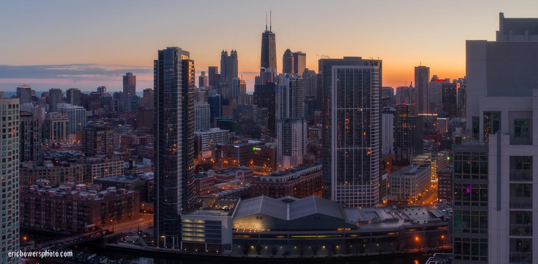 Chicago City Skyline Aerial Photos Pt 2