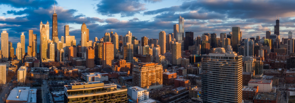 Chicago City Skyline Aerial Photos Pt 3
