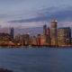 Chicago City Skyline Panoramic Photo Pt 1