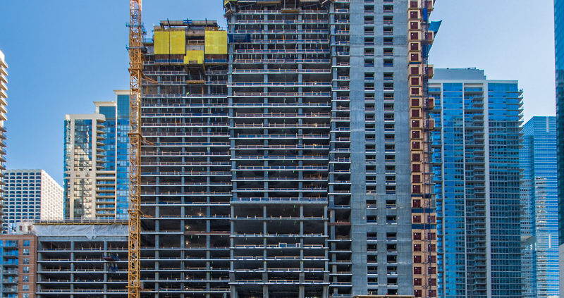 Chicago: Vista Tower Construction Part 2