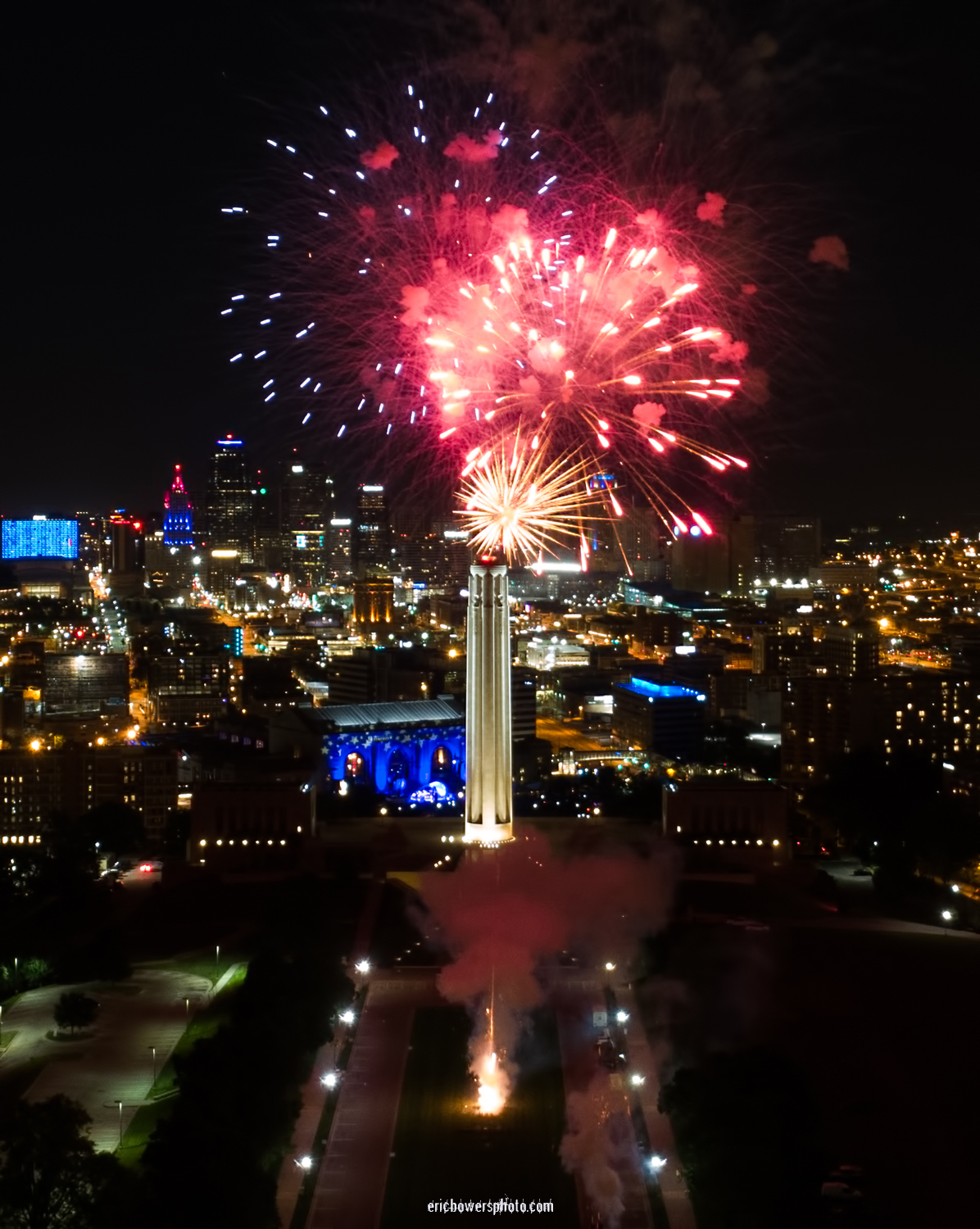 Memorial Day Fireworks at Liberty Memorial Kansas City PT 2