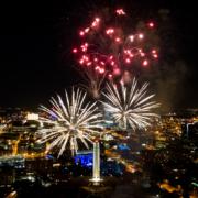 Memorial Day Fireworks at Liberty Memorial Kansas City PT 2