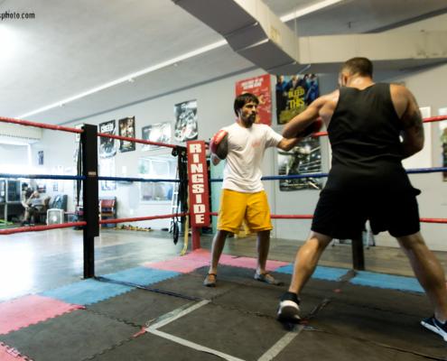 Boxing Gym Scenes Part 4