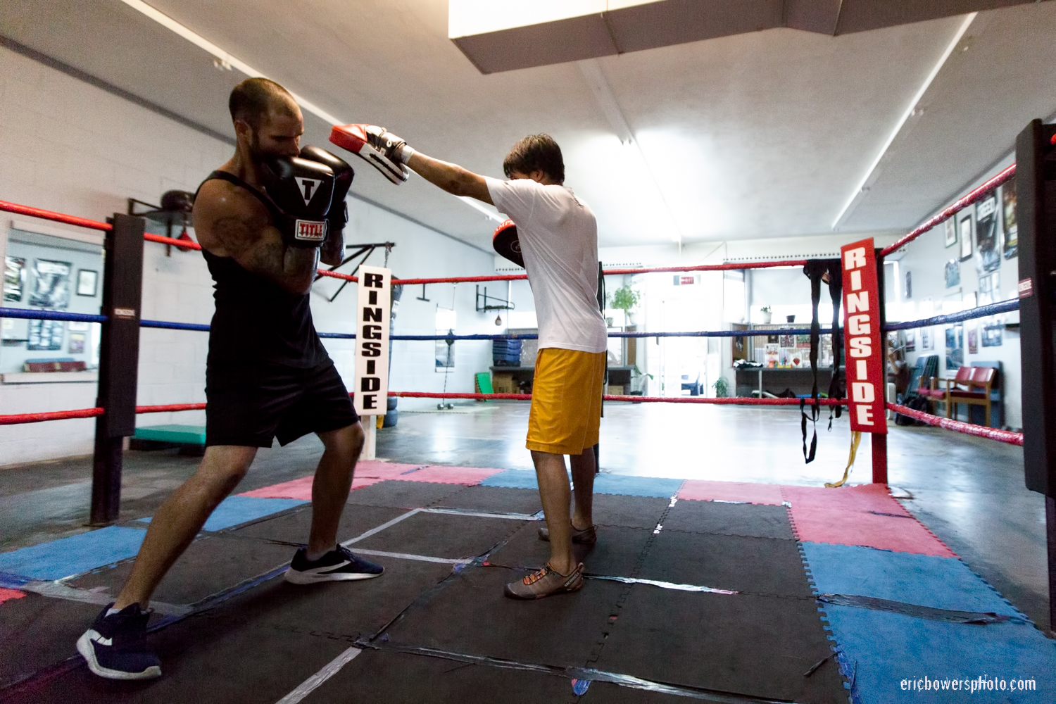 Boxing Gym Scenes Part 5