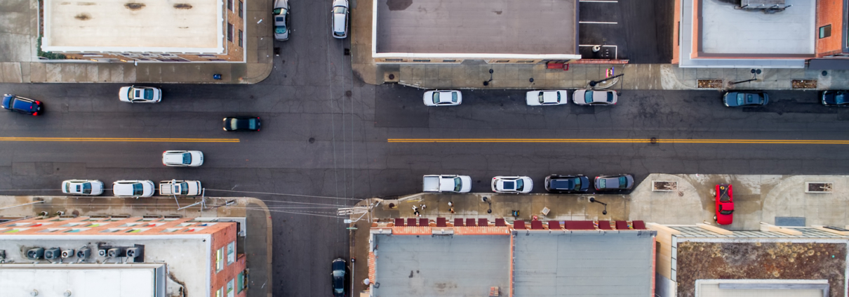 Kansas City Street Grid Aerial