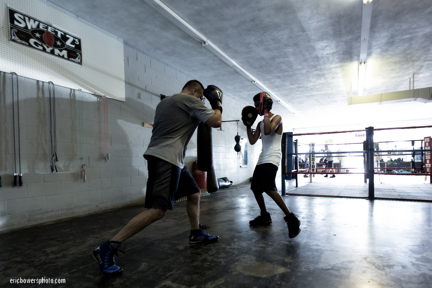 Boxing Gym Scenes Part 11