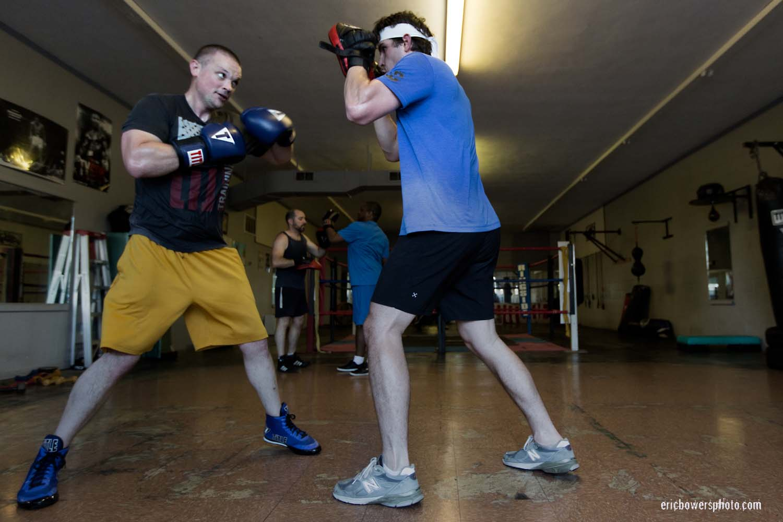 Boxing Gym Scenes Part 10