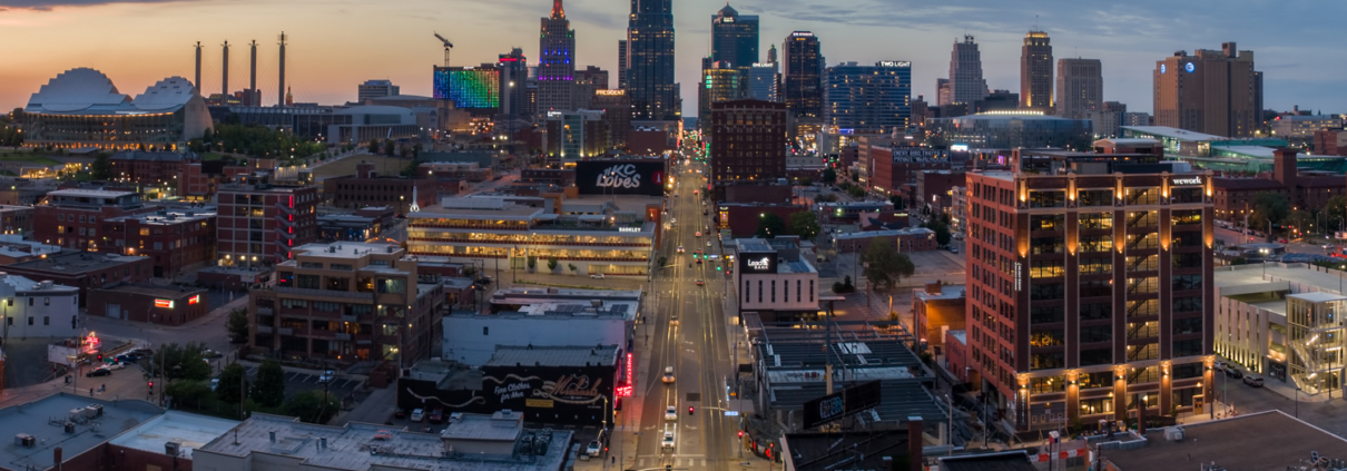 Downtown Kansas City Skyline, Summer 2018 Pt 1