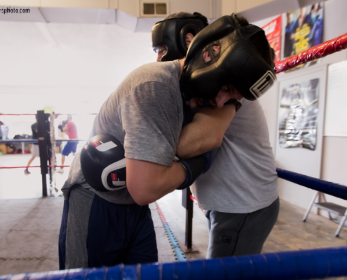 Boxing Gym Scenes Part 9