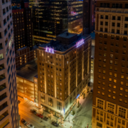 Kansas City Hotel Indigo and Formerly the Brookfield Building