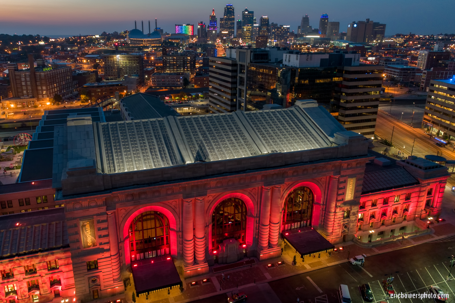Kansas City Union Station and Skyline Pt 1