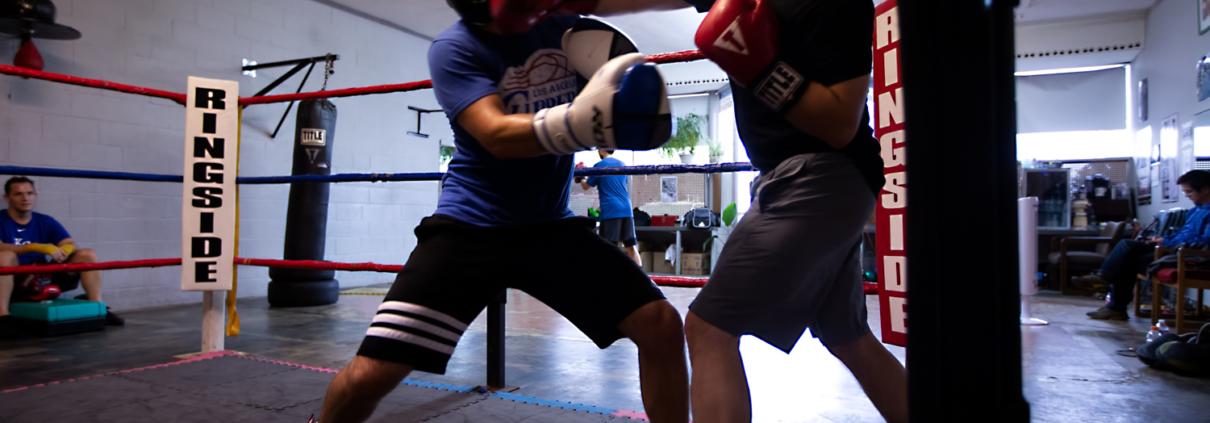 Boxing Gym Scenes Part 16