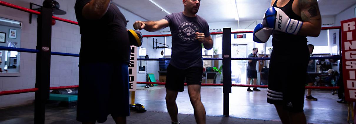 Boxing Gym Scenes Part 17
