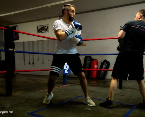 Boxing Gym Scenes Part 35