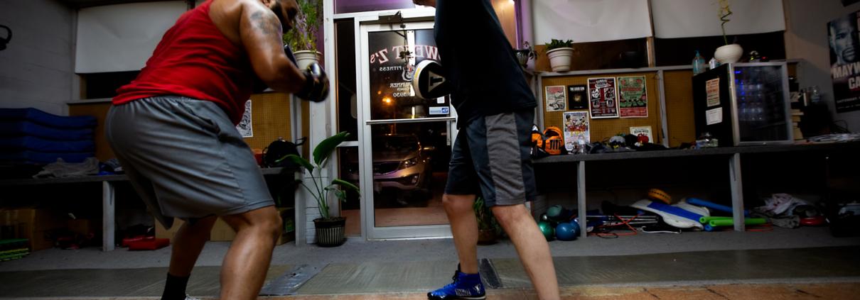 Boxing Gym Scenes Part 20