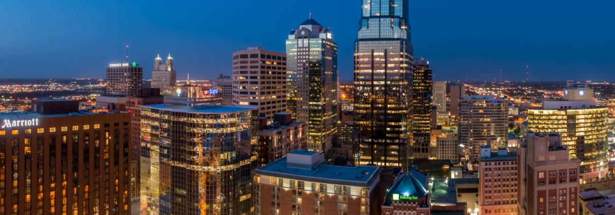 Downtown Kansas City Above 12th & Wyandotte Streets Pt 2