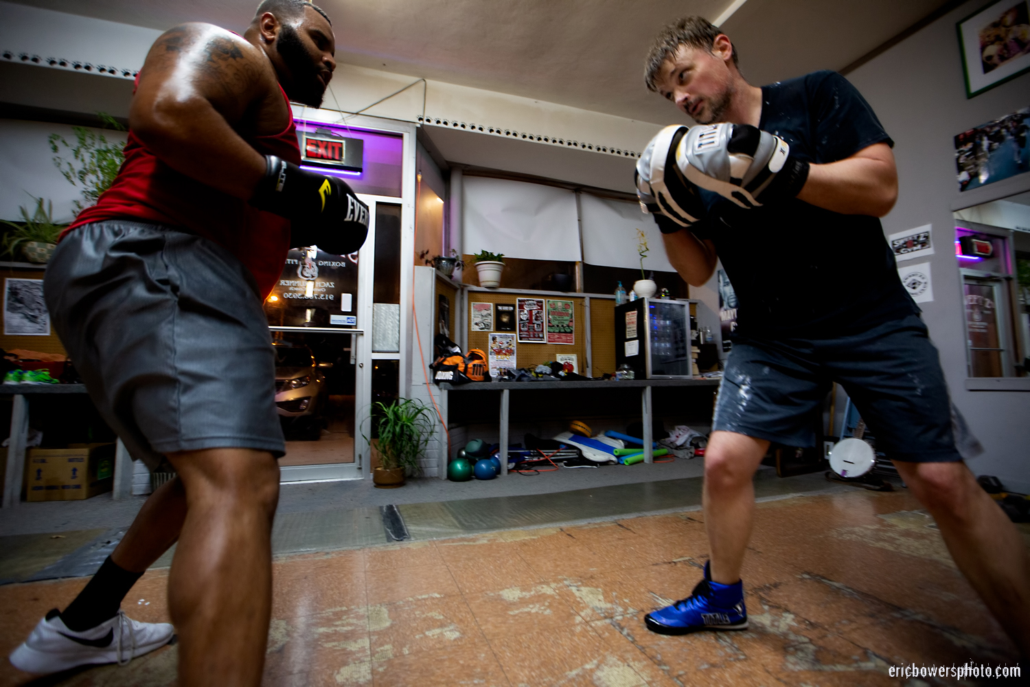Boxing Gym Scenes Part 26