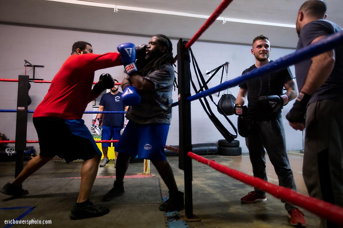 Boxing Gym Scenes Part 27