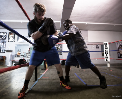 Boxing Gym Scenes Part 29