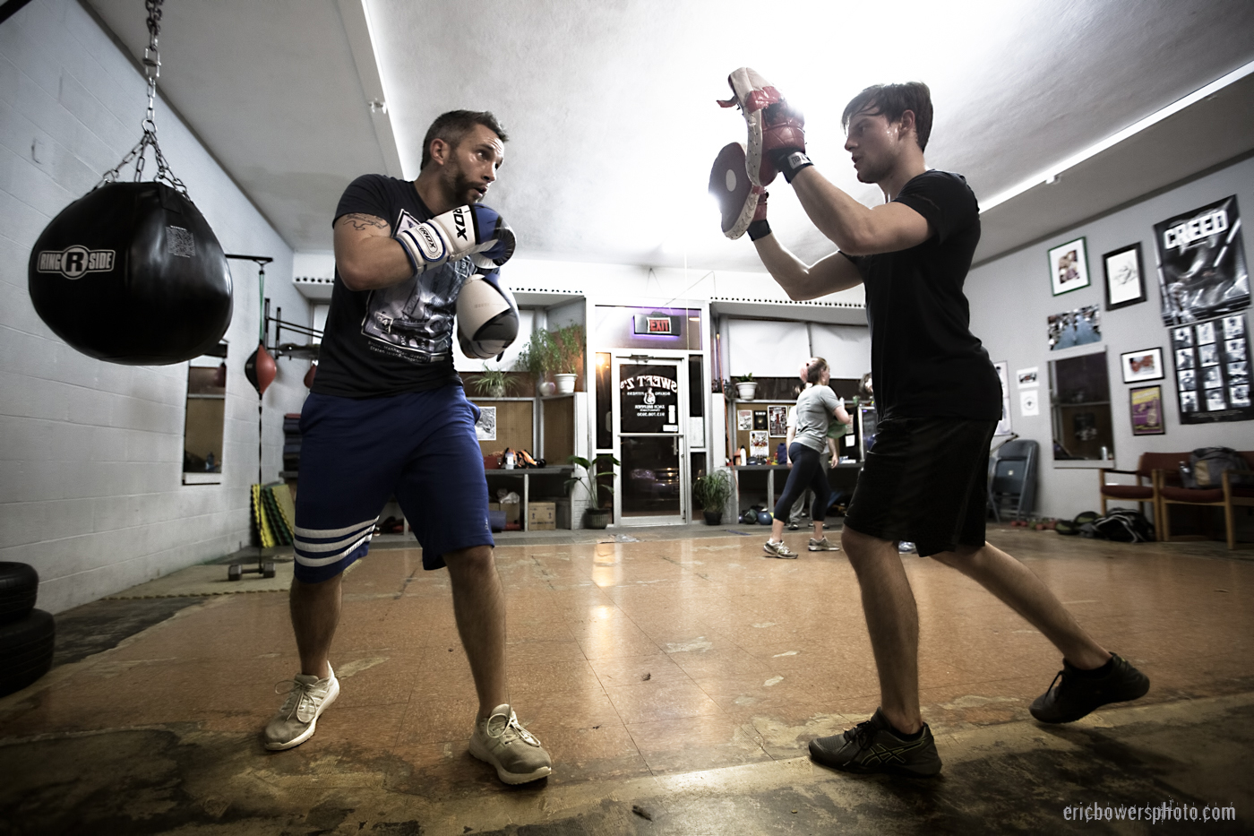 Boxing Gym Scenes Part 28