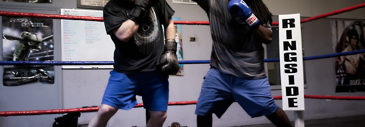 Boxing Gym Scenes Part 30