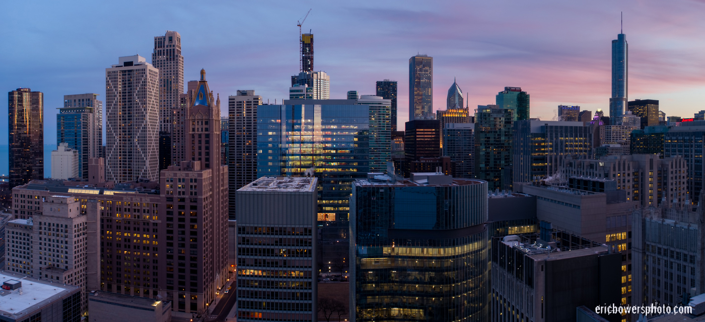 18 Chicago City Skyline Aerial Photos Pt 18