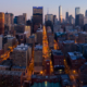 Chicago City Skyline Aerial Photos Pt 19