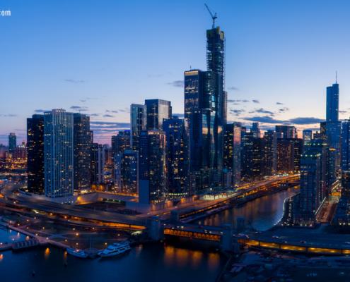 Chicago's Vista Tower Construction 2019 Pt 2