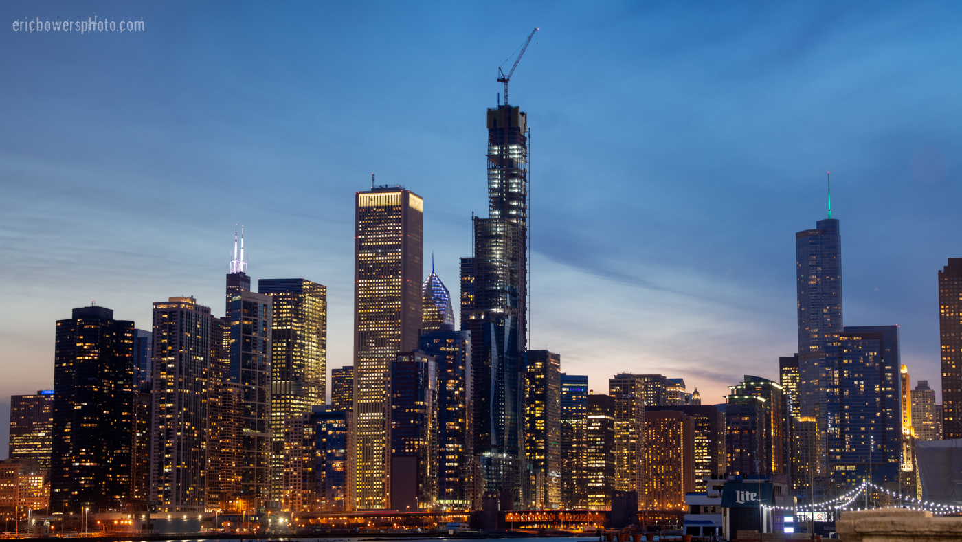 Chicago's Vista Tower Construction 2019