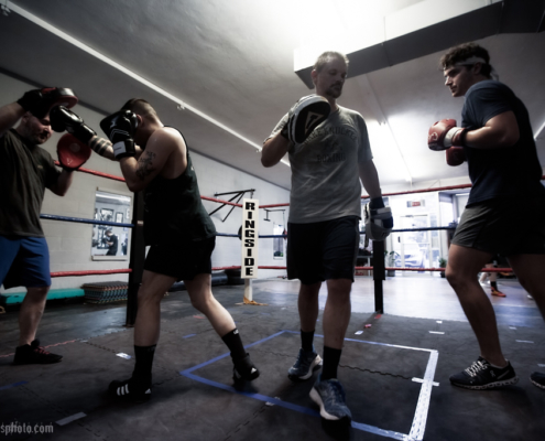 Boxing Gym Scenes Part 32