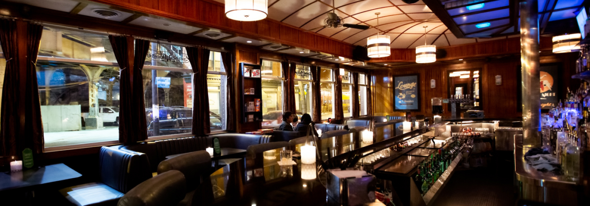 Bars and Nightlife of Chicago: Blue Line Lounge & Grill