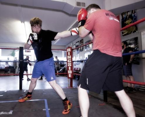 Boxing Gym Scenes Part 36