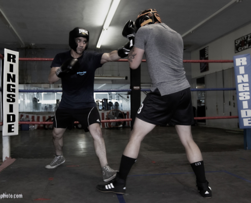 Boxing Gym Scenes Part 41